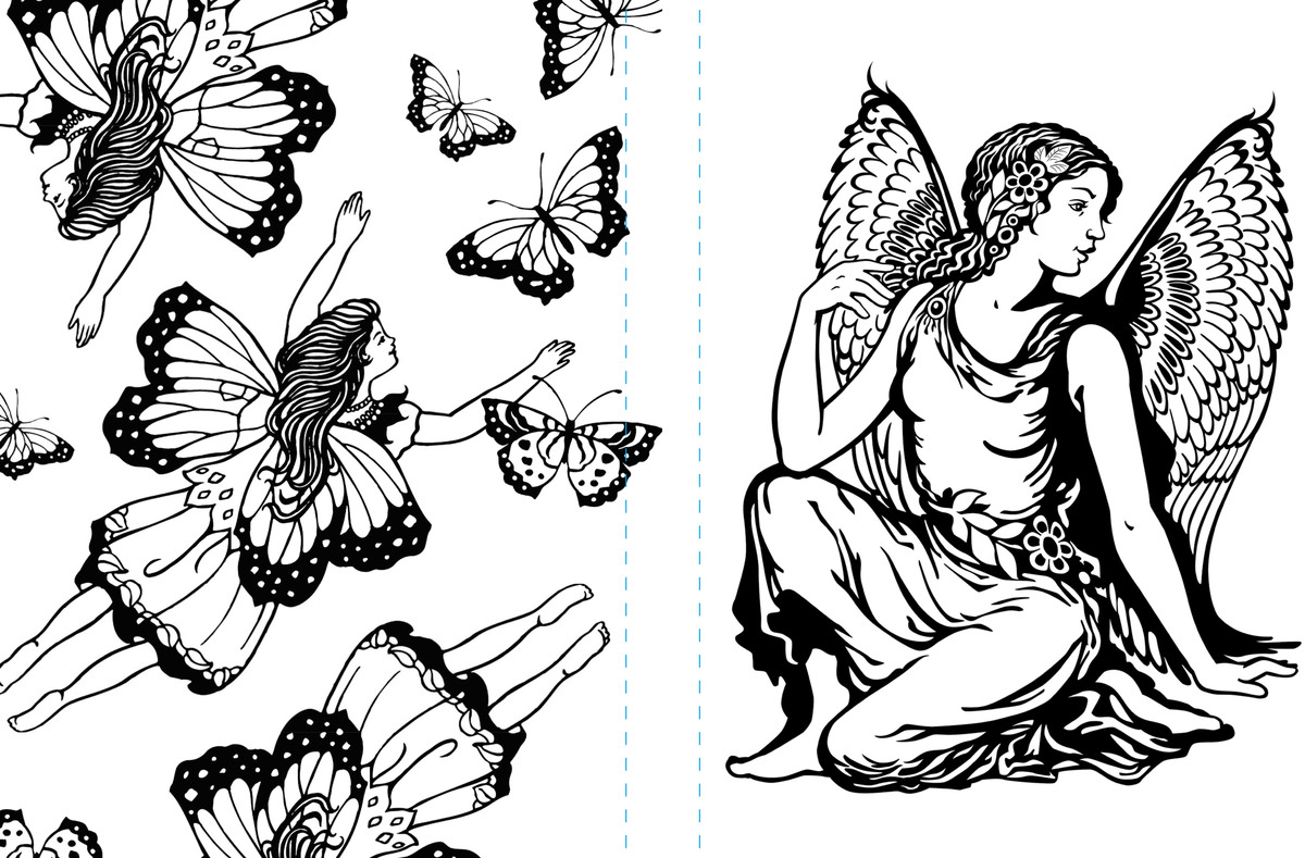 fairyland coloring pages free coloring book pages craftfoxes