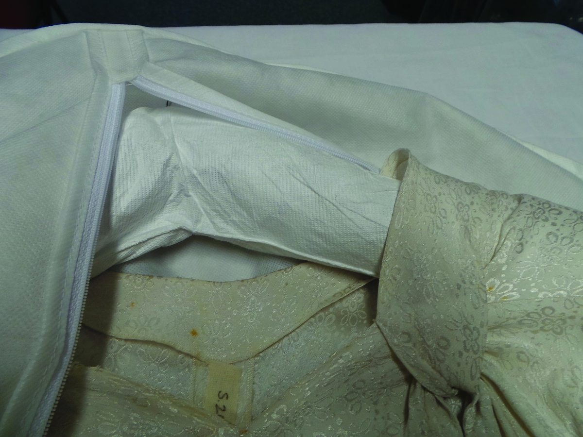 Storing and Caring for a Wedding Dress - Craftfoxes