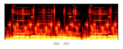 Demo 1 screenshot for this tutorial