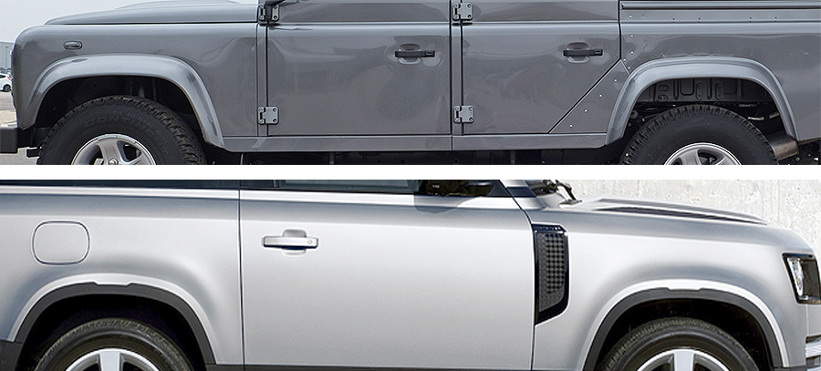 Land Rover Defender doors