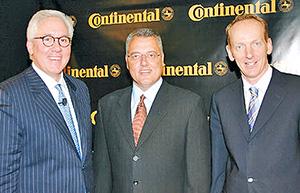 Continental and Motorola executives
