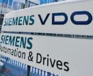 Continental's takeover of Siemens VDO