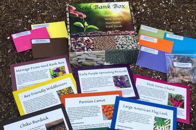 Seed Bank Box