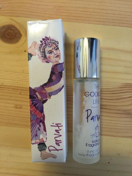 Goddess Provisions January 2016 Review, Item Four: The Goddess Line, Parvati Perfume