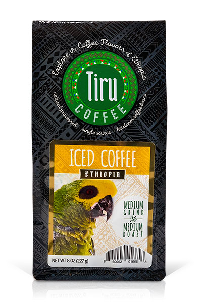 Iced Coffee from Ethiopia