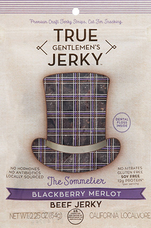 True Jerky- The Sommelier (Blackberry Merlot)