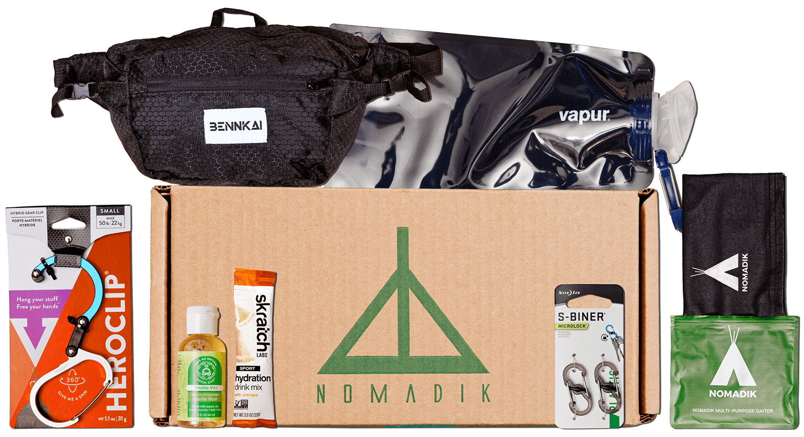 Nomadik Subscription Box