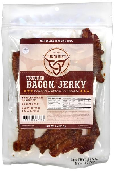 Mission Meat Kickin' Sriracha Bacon