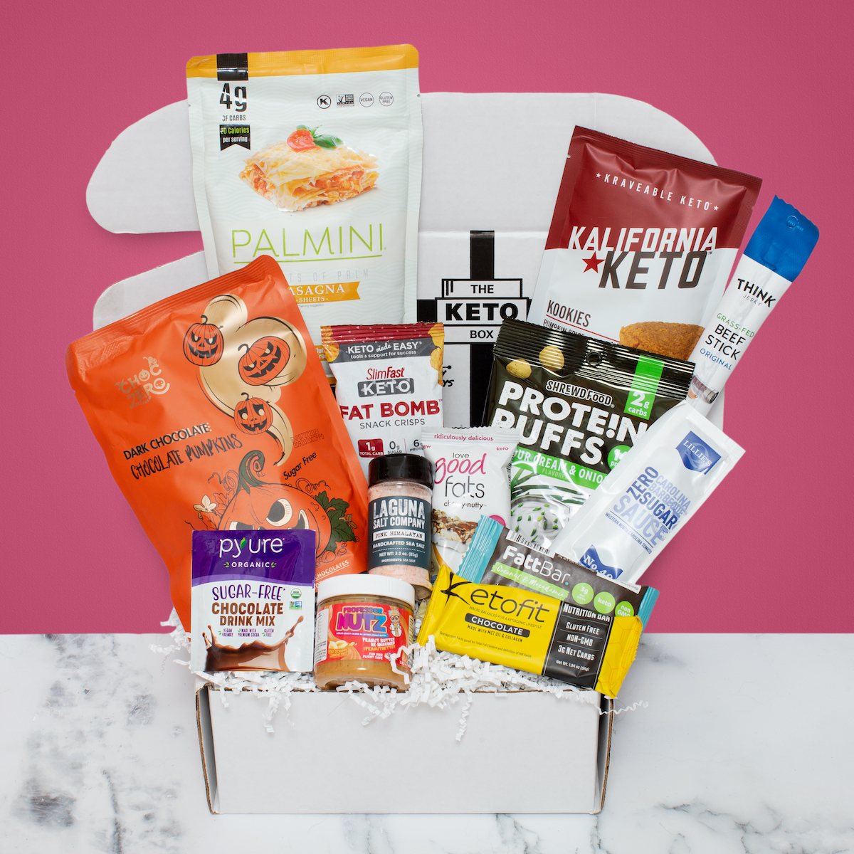 Keto October box 2020 Box