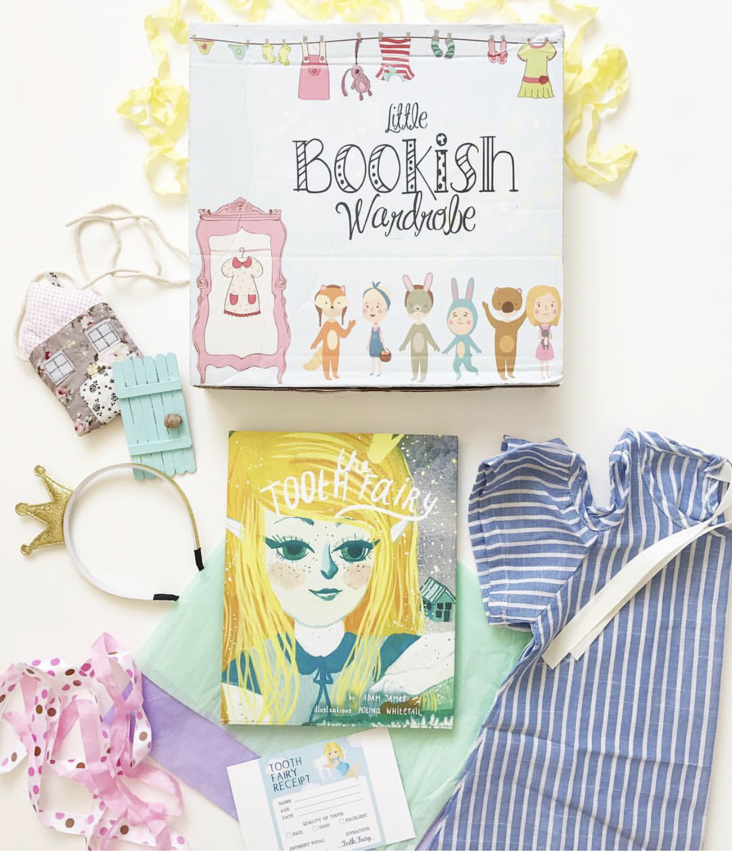 Little Bookish Wardrobe subscription box for kids