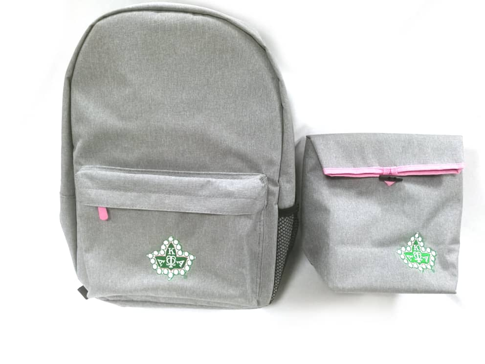 Back Pack + Lunch Bag