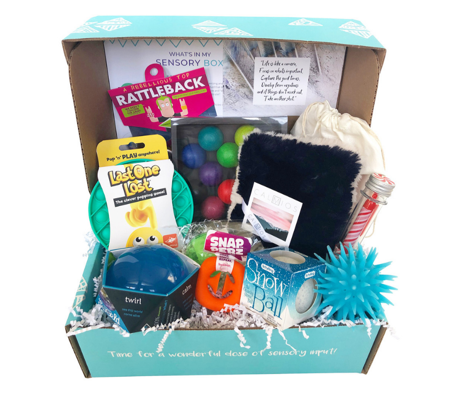 Winter Teen/ Adult Sensory Box!