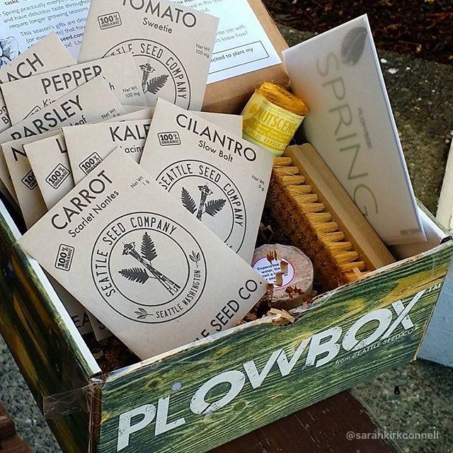 PlowBox Monthly Gardening Subscription Cratejoy