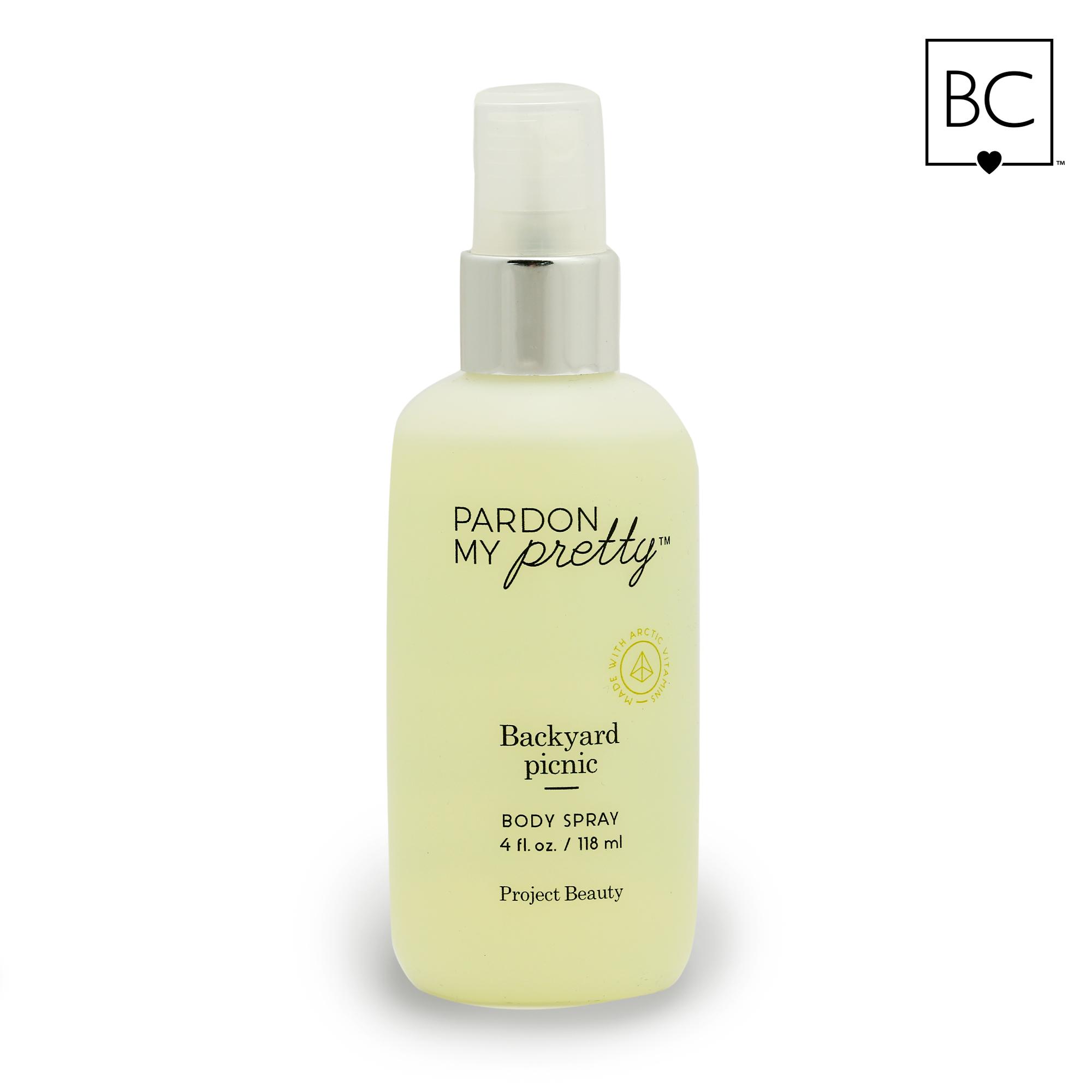 project beauty pardon my pretty backyard picnic body spray