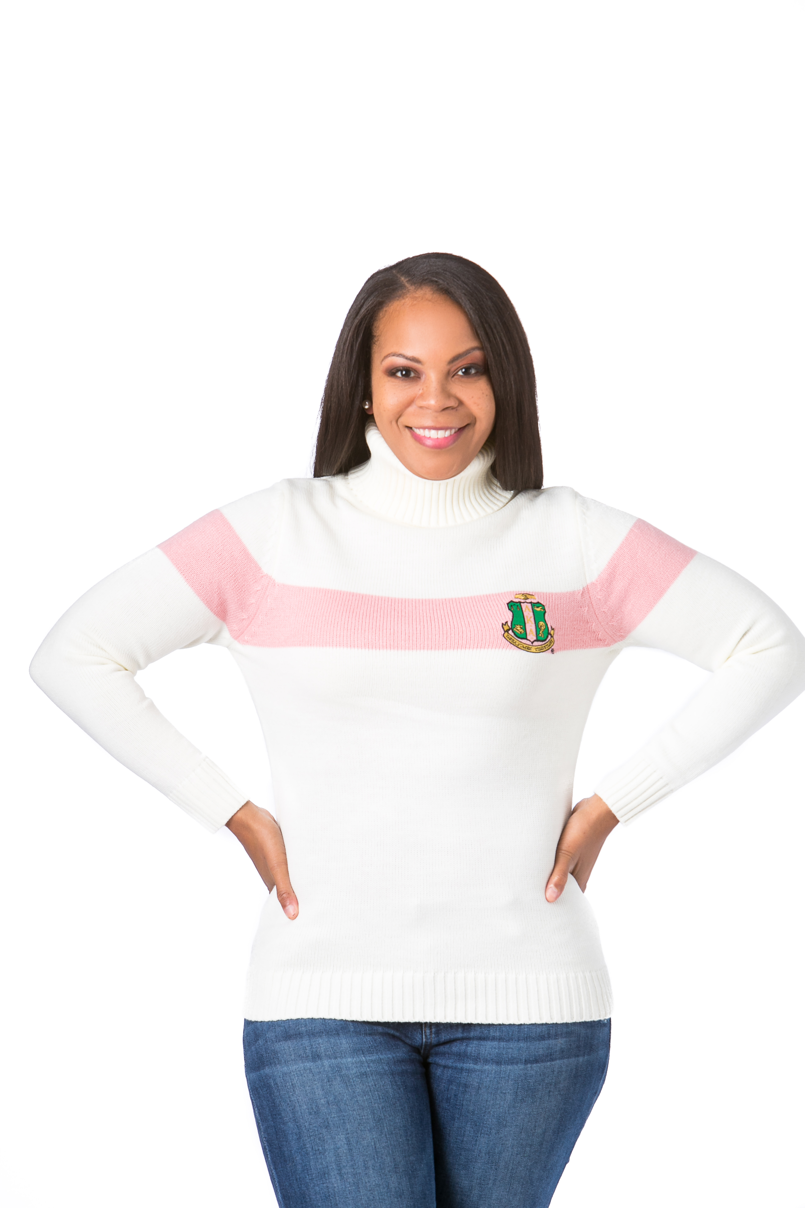 Women's Cropped Turtleneck Sweater