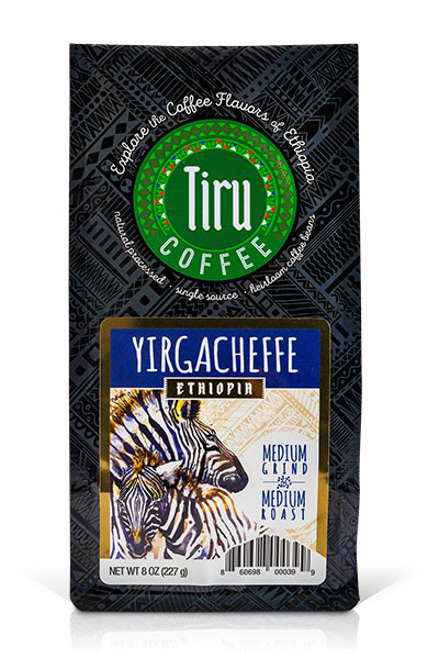 Coffee from Yirgacheffe, Ethiopia