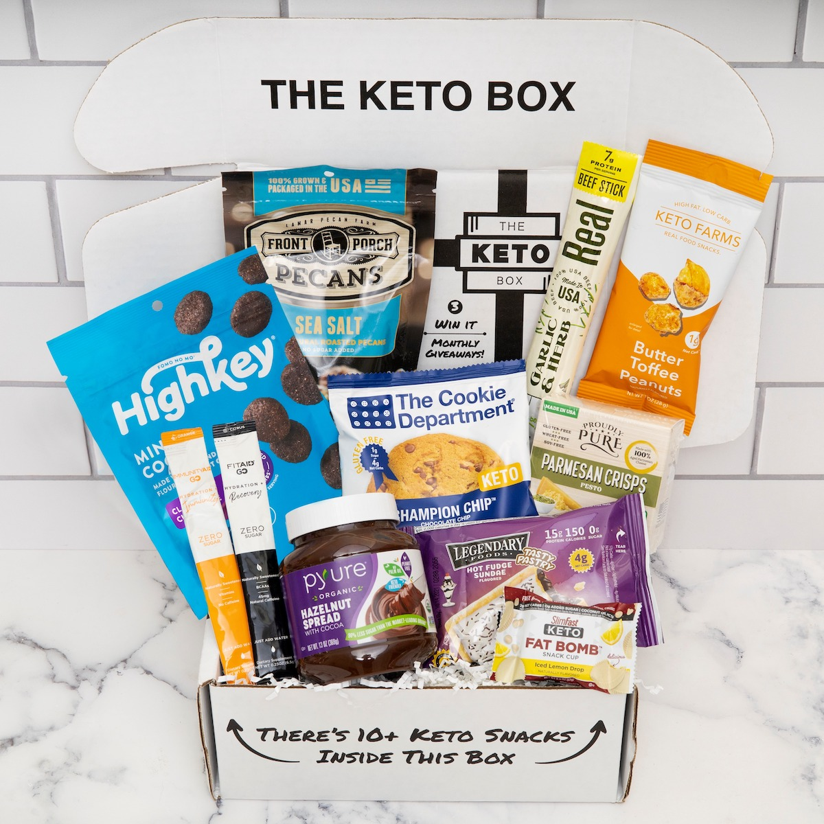 Keto April box