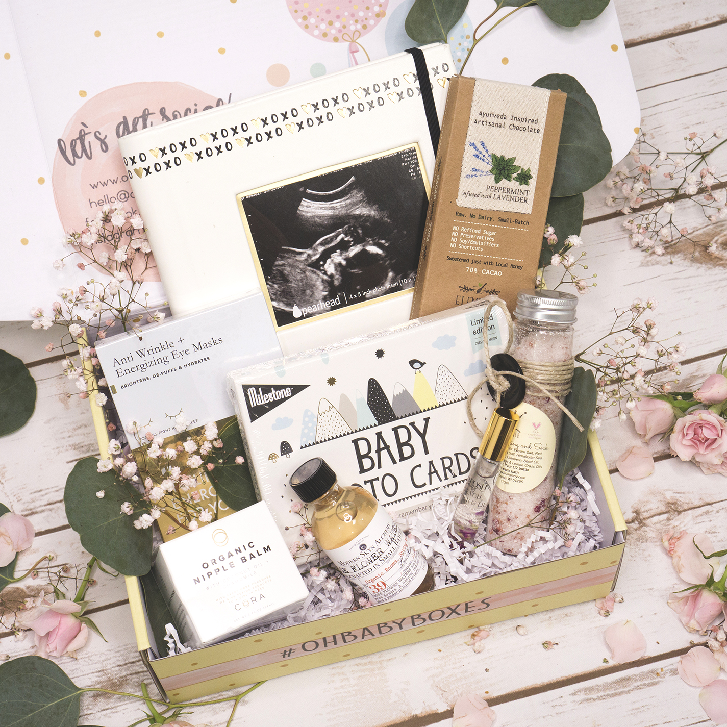 Oh Baby Boxes is a pregnancy and newborn subscription.