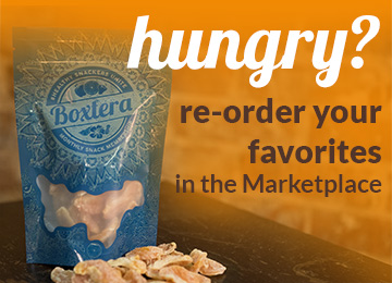 Reorder Individual Boxtera Snacks in the Marketplace