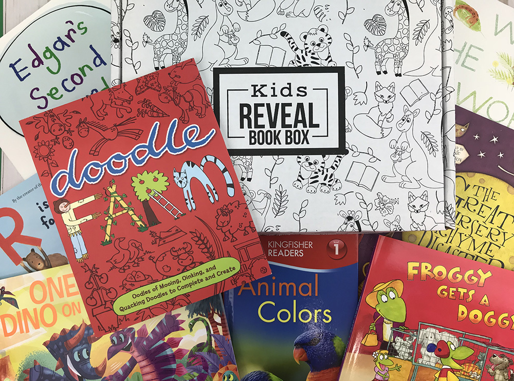 Kids Reveal Book Box - Subscribe
