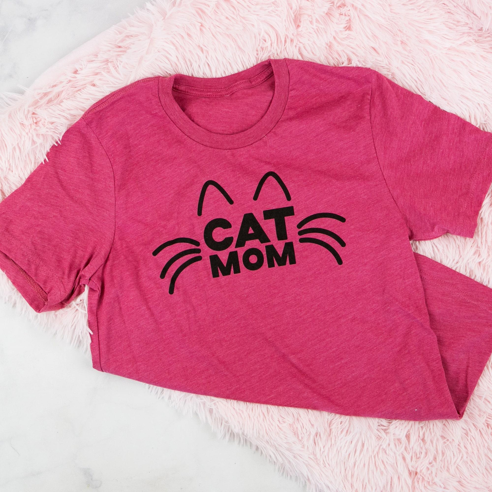 902b8e0f2 ... Cat Mom T-Shirt. 1/2. PreviousNext. Loading