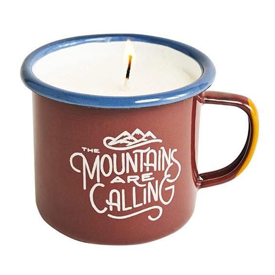 UBB enamel candle mug