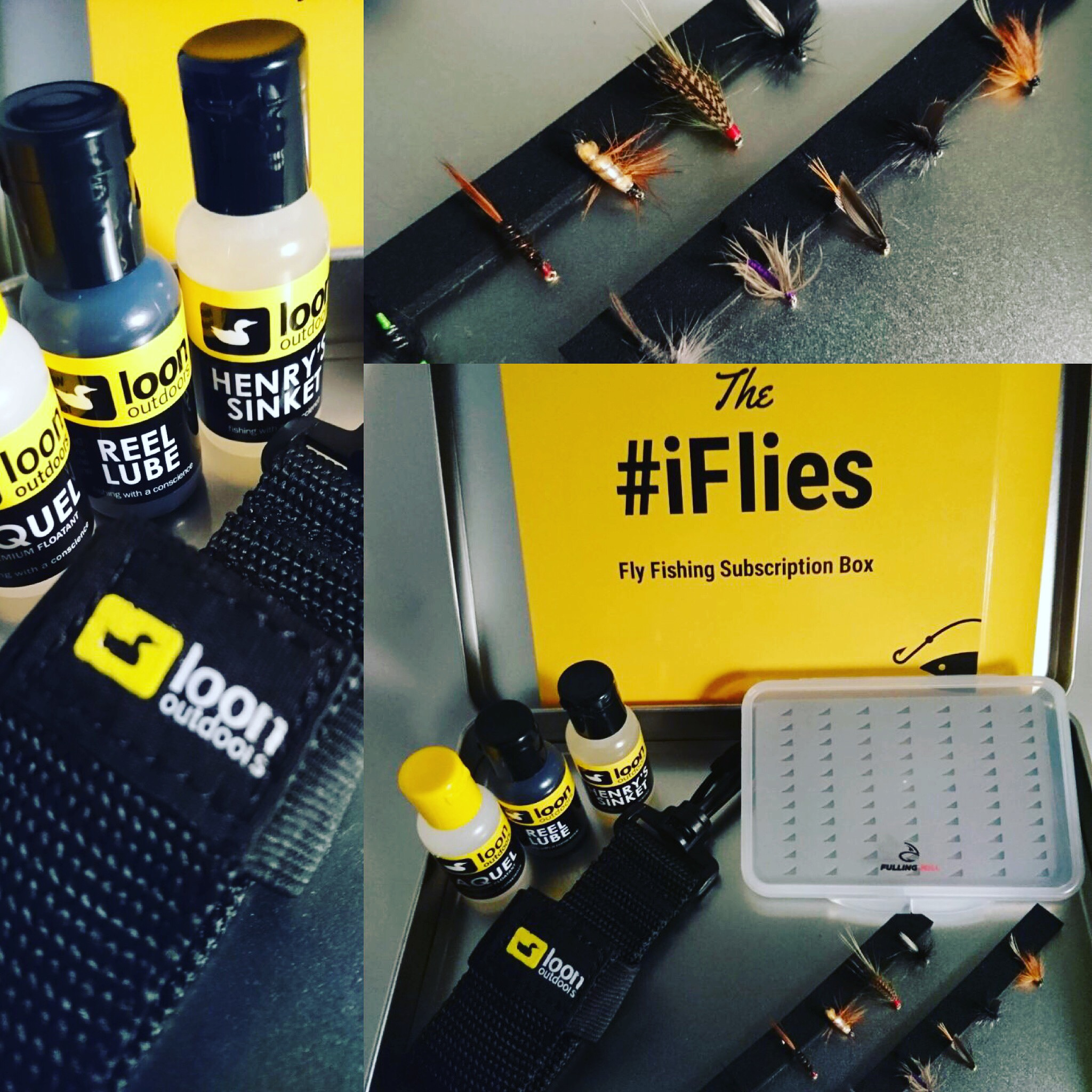 Iflies subscribe for Fly fishing subscription box