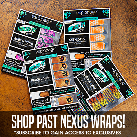 Shop Past Nexus Nail Wraps!