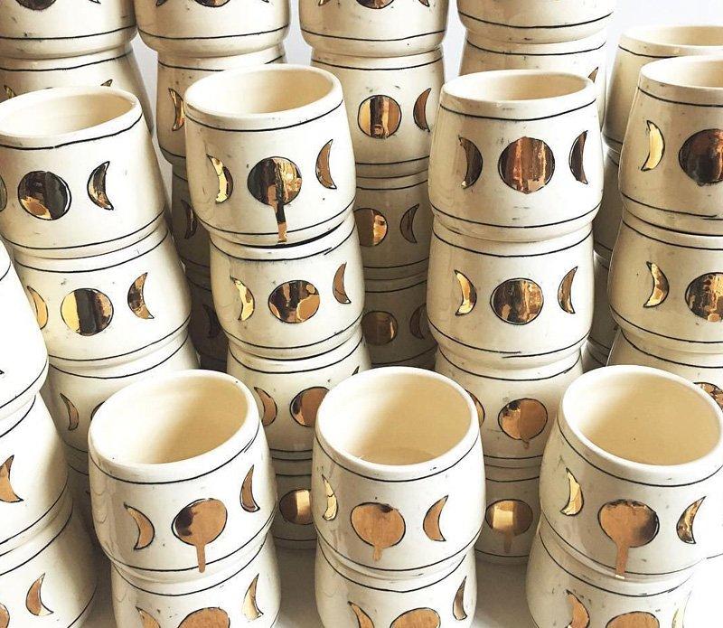 Ceramic Moon Cup