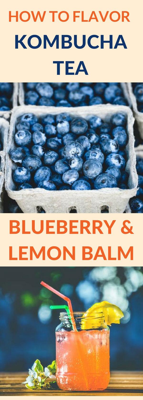 flavor kombucha blueberry lemon pin