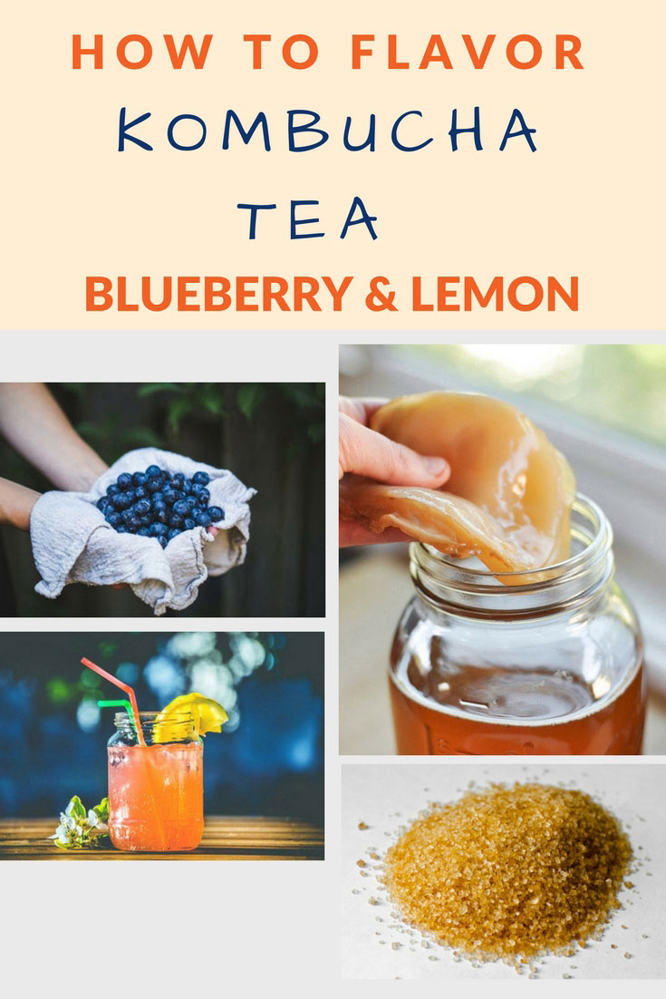 flavor kombucha blueberry lemon