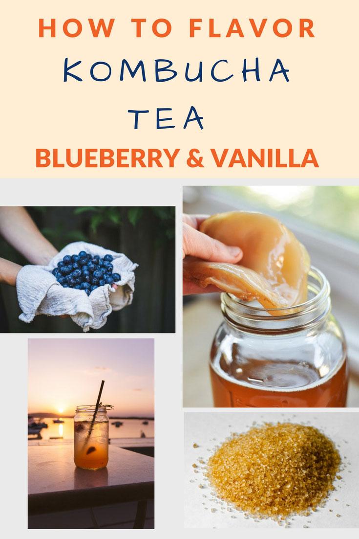 flavor kombucha blueberry vanilla