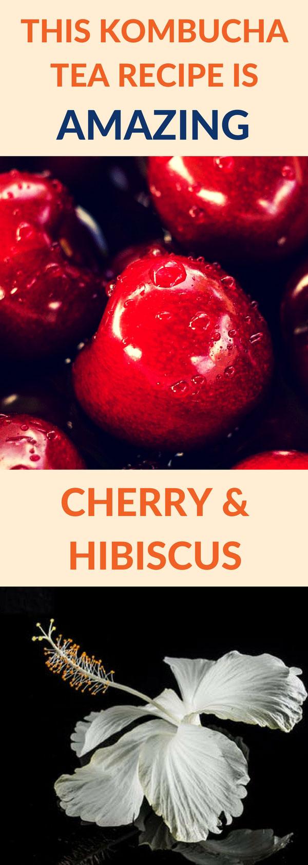 flavor kombucha cherry hibiscus pin