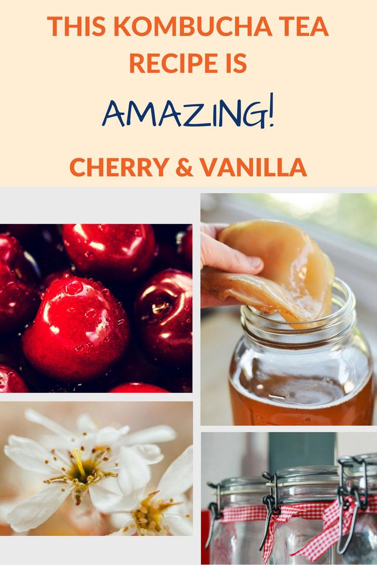 flavor kombucha cherry vanilla