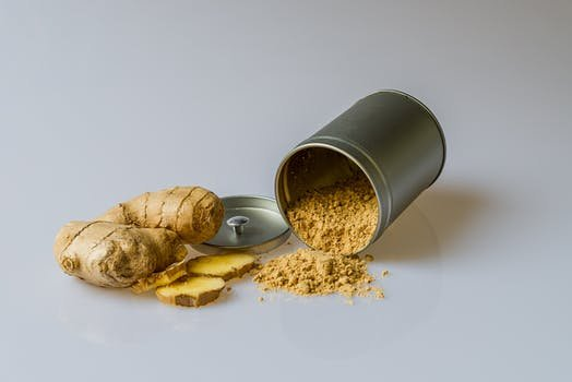 ginger root for kombucha tea
