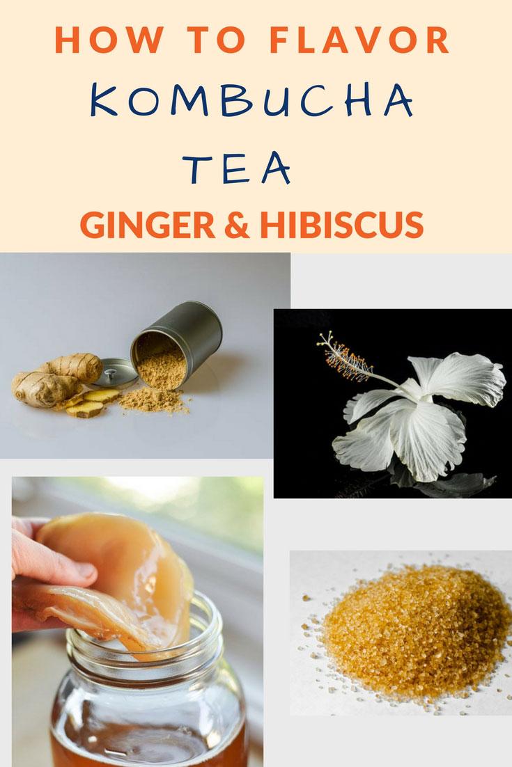 flavor kombucha ginger hibiscus