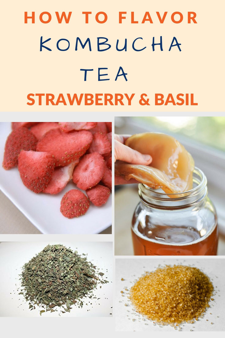 flavor kombucha strawberry basil