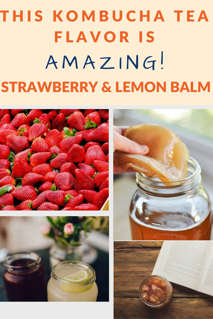 flavor kombucha strawberry lemon