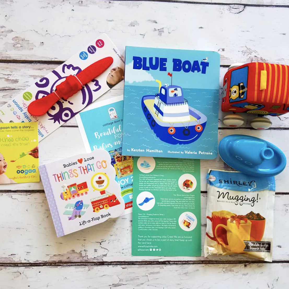 Board Book Past Crate - On the Go!