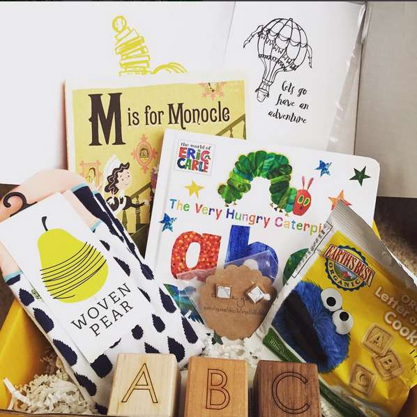 Board Book Past Crate - ABC