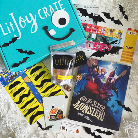 Picture Book Past Crate - Halloween