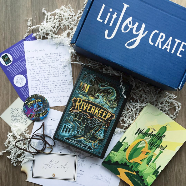 YA Past Book Crate - Magic and Madness