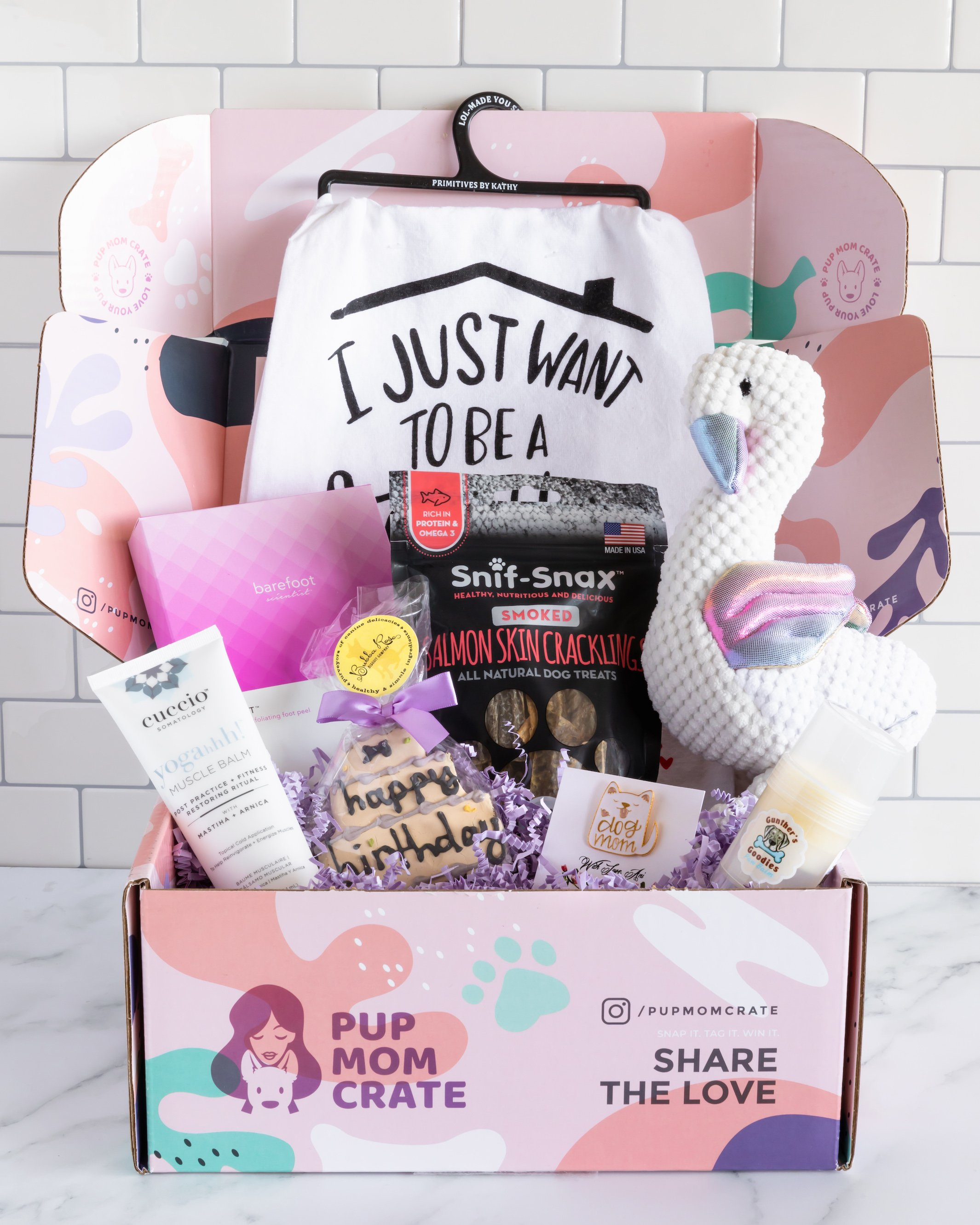 January Pup Mom Crate