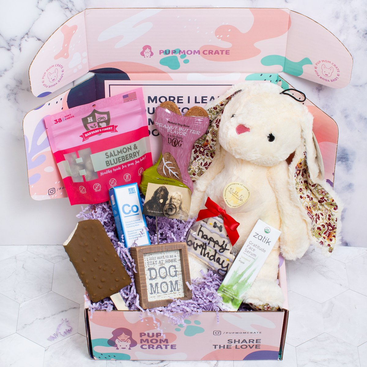 Pup Mom April Crate