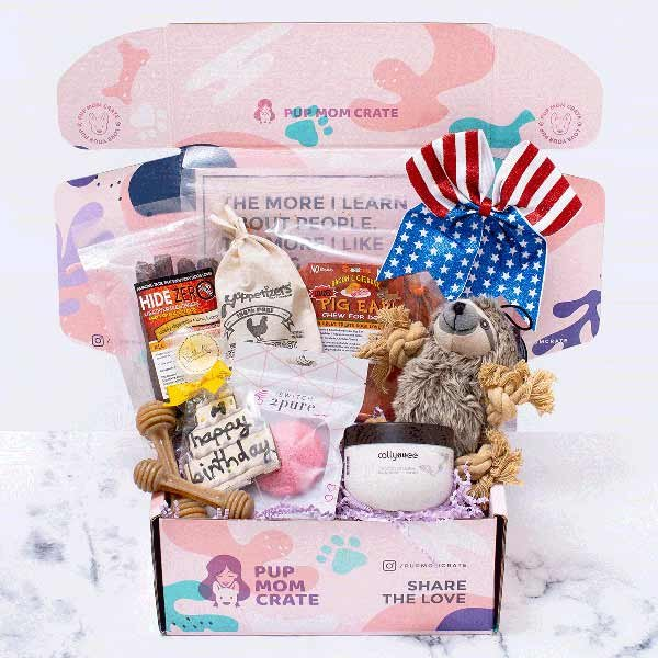 July Pup Mom Crate