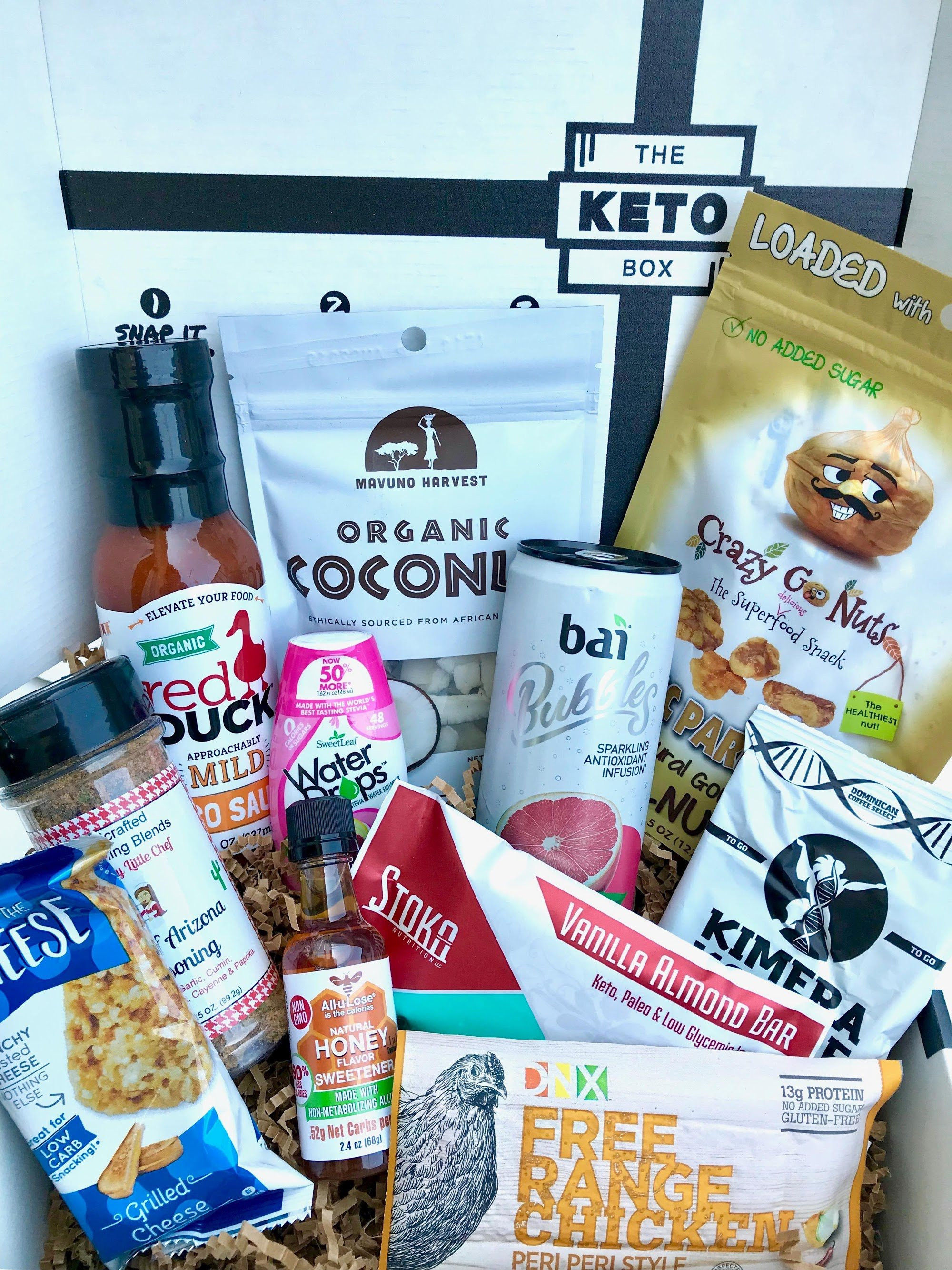 The Keto Box The Best Keto Monthly Subscription Box