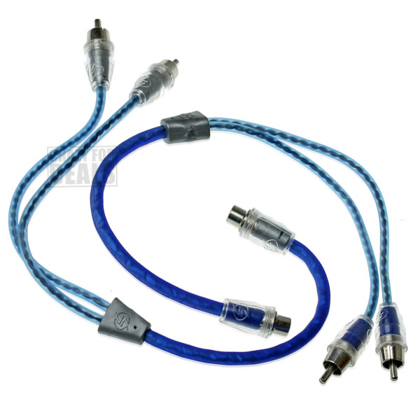 2 Lightning Audio 1 Ft Twisted 1 Female To 2 Male Rca
