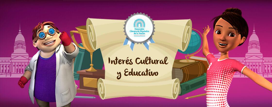 Declarados Interés Cultural y Educativo