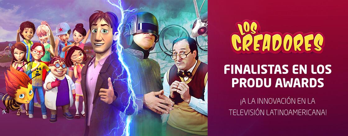 ¡Finalistas en los PRODU AWARDS a la innovación en la televisión!