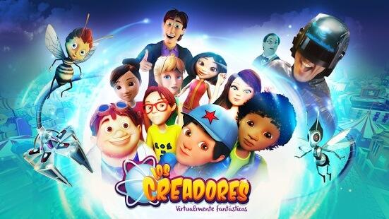 Todos los personajes de Los Creadores